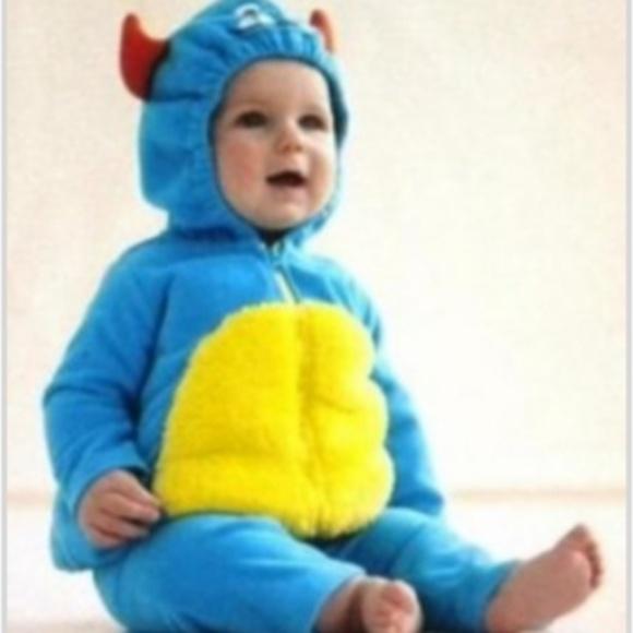 Carteru0027s Baby Halloween Costume Blue Monster 6-9M  sc 1 st  Poshmark & Carteru0027s Costumes   Carters Baby Halloween Costume Blue Monster 69m ...